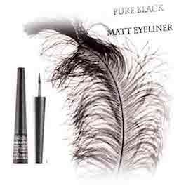 Karaja Pure Black Matt Eyeliner - beauty4face.nl
